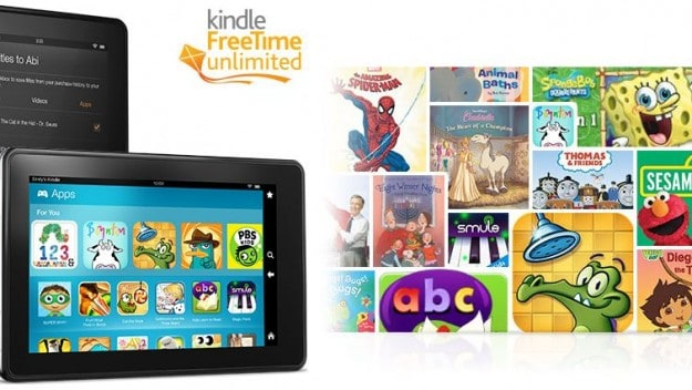 Amazon kindle fire for kids has lots of eductional stuff